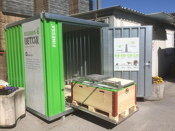 """Umsetzung der neuen Besucher-Werksbesichtigung """"Erlebnis Beton"""" von Creabeton am Standort Lyss sowie in Granges/Payerne"""