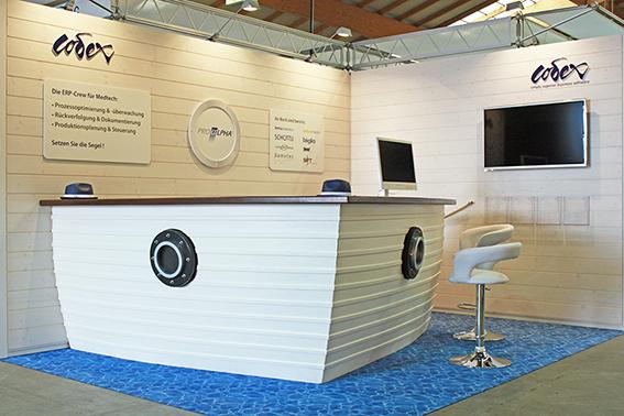 Individual Standbau an der Medtech Luzern für CODEX