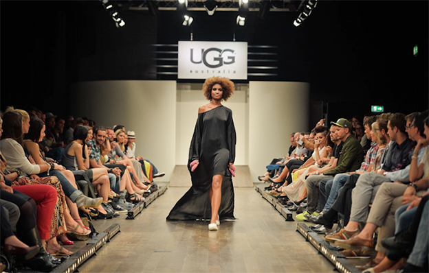 UGG Fashionshow - Kulissenbau im Schiffbau