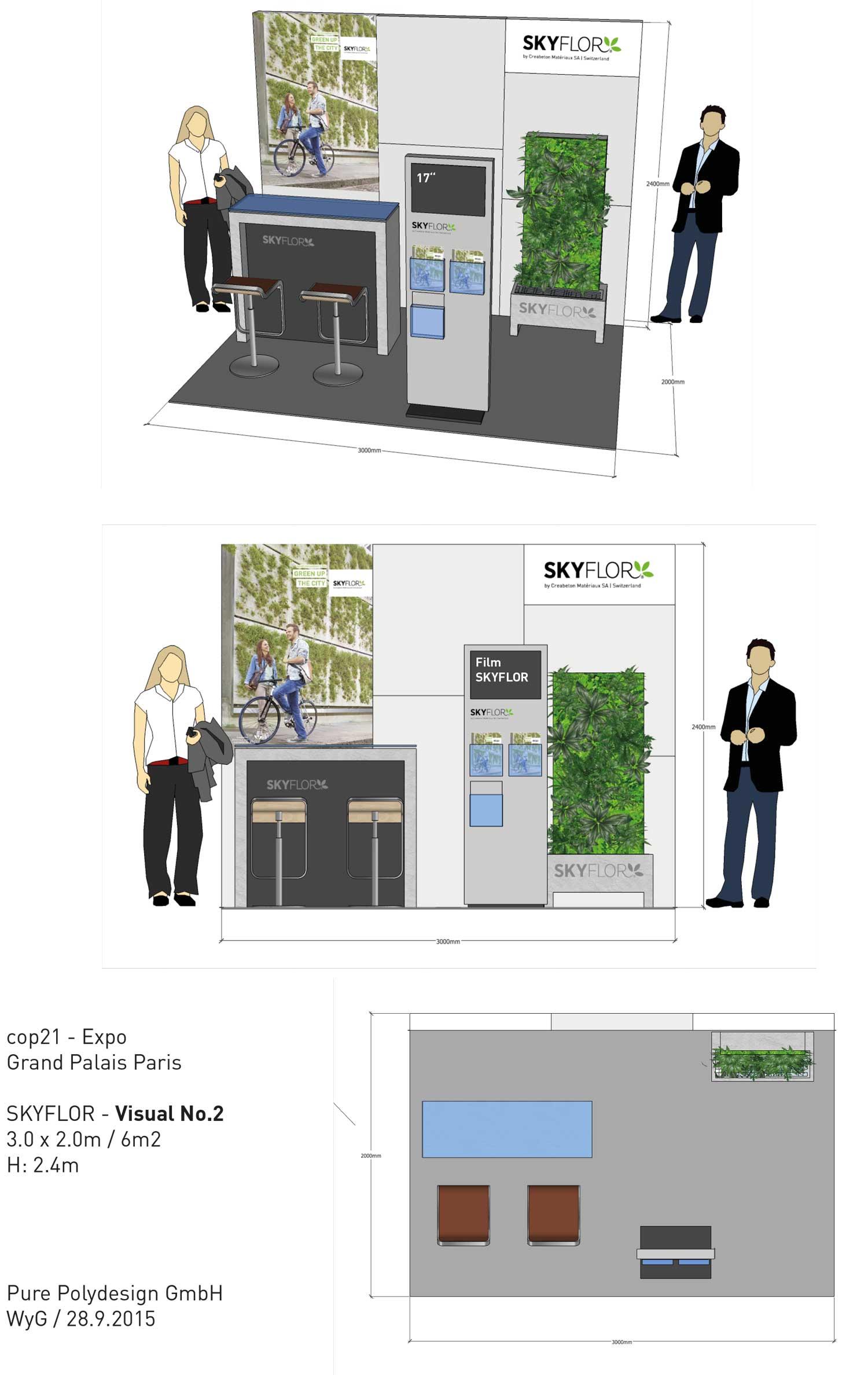 Visual für Displaystand cop21/ Conference Paris